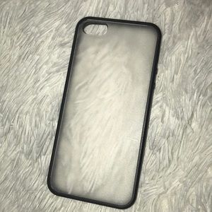 Clear see through iPhone 5 case